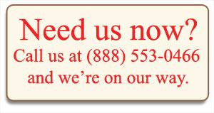 Need us now? Call us at (888) 553-0466 and we're on our way.